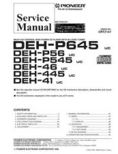Buy PIONEER C2147 Service Data by download #148770