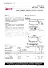Buy MODEL LA70001 Service Information by download #124277