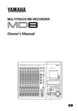 Buy Yamaha MD8E Operating Guide by download Mauritron #204820