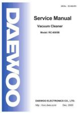Buy DAEWOO SM RC-6005B (E) Service Data by download #150655
