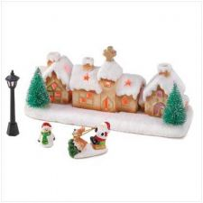 Buy Christmas Winter Village With Led Lights