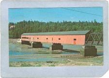 Buy CAN New Brunswick Covered Bridge Postcard Bridge At Alma Fundy National Pa~1036