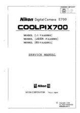 Buy NIKON 700 sm 700 sm Service Manual by download #138413
