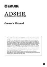 Buy Yamaha AD8HR EN OM F0 Operating Guide by download Mauritron #204366