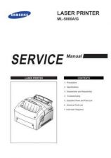 Buy Samsung ML-5000A&G Service Manual by download #138695