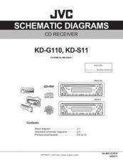 Buy JVC KD-G110 KD-S11 sch Service Schematics by download #156062