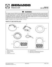 Buy SEADOO SSI9608A Service Schematics by download #157686