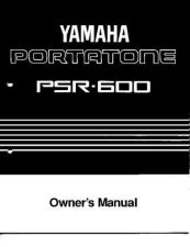 Buy Yamaha PSR600E Operating Guide by download Mauritron #204163