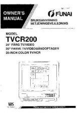 Buy Funai FUNAI TVCR-C1404 -C1404T -C2104 -C2104T (IT) Manual by download #162459