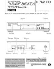 Buy KENWOOD DVF3030 Service Manual by download #148108