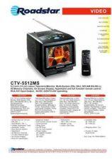 Buy ROADSTAR CTV-5509KL by download #128068