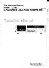 Buy INFINITY TD392 SM Service Manual by download #147877