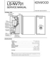 Buy KENWOOD LS-NV701 Technical Info by download #148296