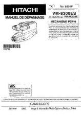 Buy Hitachi VM-8300ES NO 6801F Manual by download Mauritron #184644
