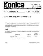 Buy Konica 25 IMPROVED UPPER FUSING RO Service Schematics by download #136062