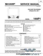 Buy Sharp 14AP1 SM GB(1) Manual.pdf_page_1 by download #177732
