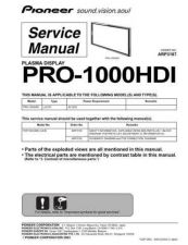 Buy PIONEER A3187 Service Data by download #152430