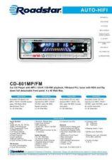 Buy ROADSTAR CD-801MP FM by download #127886