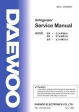 Buy DAEWOO [24[1]1] SR524PW001 Service Manual by download Mauritron #194065