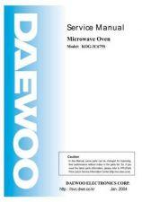 Buy DAEWOO SM KOG-3C67 (E) Service Data by download #146873