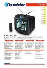 Buy ROADSTAR CTV-1007MS by download #127970
