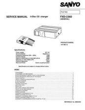 Buy Sanyo SM590495-00 02 Manual by download #177119