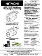 Buy Hitachi VM-E330 535 635 VM-H630 835 Manual by download Mauritron #184656
