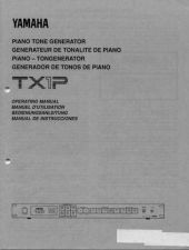 Buy Yamaha TX1PE Operating Guide by download Mauritron #205445