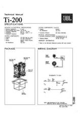 Buy INFINITY TI 200 TS Service Manual by download #151606