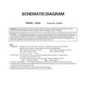 Buy TOSHIBA 19A20 SCM Service Manual by download #167308