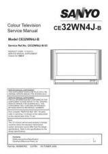 Buy Sanyo CE32WN4J-B-03 Manual by download #173296