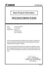 Buy Canon IR2200_2800_3300PC Service Schematics by download #135206