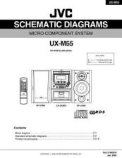 Buy JVC UX-L40 TECHNICAL DATA by download #131536