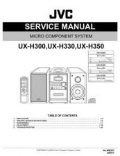 Buy JVC UX-H100 TECHNICAL DATA by download #131517