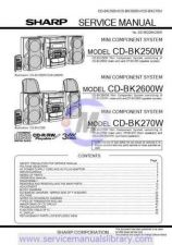 Buy Sharp CDC3W-K3W-CPC3W SM GB Manual by download #179883