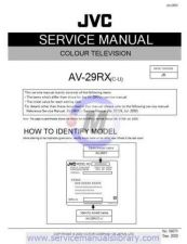 Buy Sharp AV-29RX Manual by download #179687