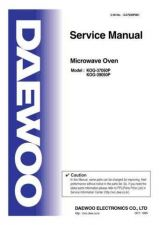 Buy Daewoo G37050P001(r) Service Manual by download #160703