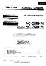 Buy Sharp VCA100HM-013 Service Schematics by download #157995