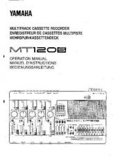 Buy Yamaha MT120SE Operating Guide by download Mauritron #204898