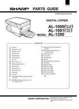 Buy Sharp AL1000-1001-1200 PG GB Manual by download #178960
