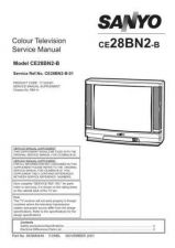 Buy Sanyo CE28BN2-B-01 Manual by download #173090