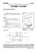 Buy SEMICONDUCTOR DATA TA7368P FJ Manual by download Mauritron #190335