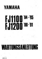 Buy Yamaha FJ1100-1200 '84-91 Service Manual (German) by download Mauritron
