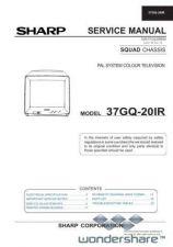 Buy Sharp 37GQ20IR SM GB Manual.pdf_page_1 by download #178401