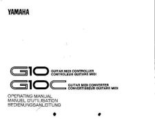 Buy Yamaha G10E Operating Guide by download Mauritron #203724