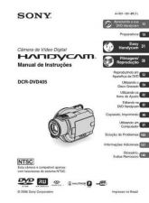 Buy SONY DCR-DVD405 OPERATING GUIDE by download #166668