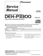 Buy PIONEER C2689 Service Data by download #149053