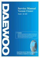 Buy Daewoo RC400SE001 Manual by download #169006