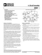 Buy INTEGRATED CIRCUIT DATA AD694 J Manual by download Mauritron #186307