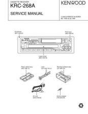 Buy KENWOOD KRC-208S 218 268 288 28MR Technical Info by download #148214